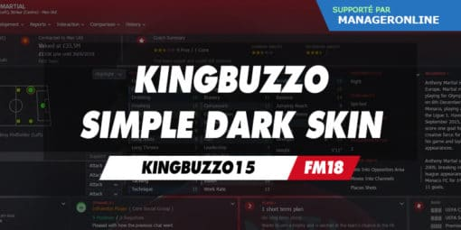 KingBuzzo Simple Dark Skin