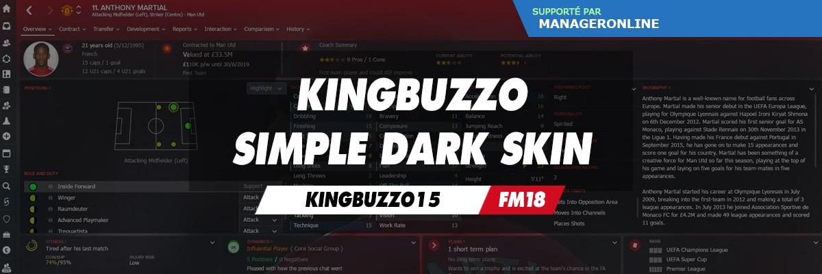 KingBuzzo Simple Dark Skin