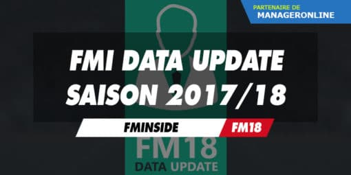 FMInside Data Update Saison 2017/18
