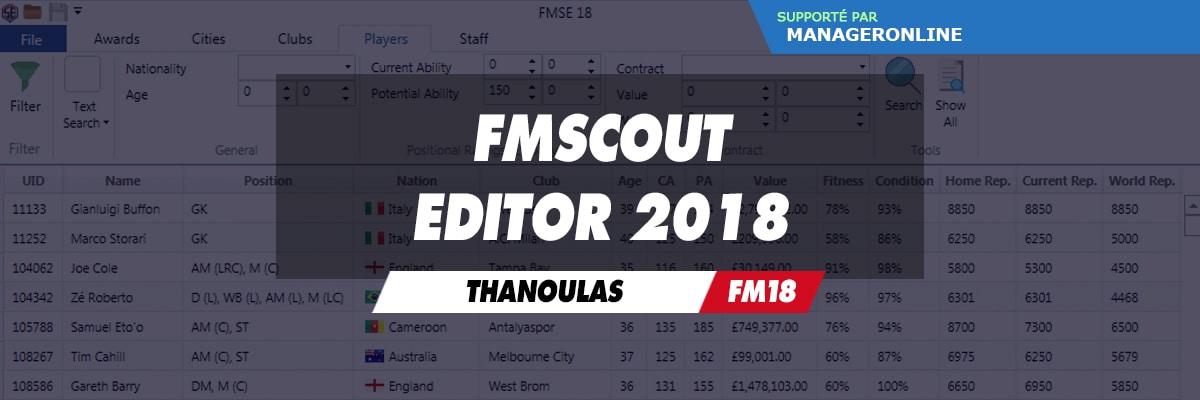 FM Scout Editor