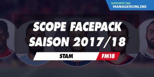 FM18 Scope Facepack