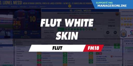 Flut White Skin