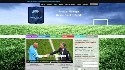 Site GeekFM