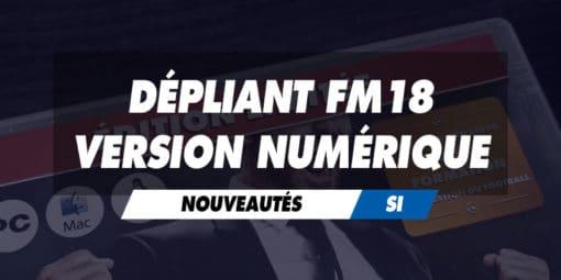 Dépliant FM18 pour les versions numériques