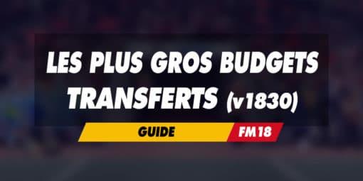 Gros budgets