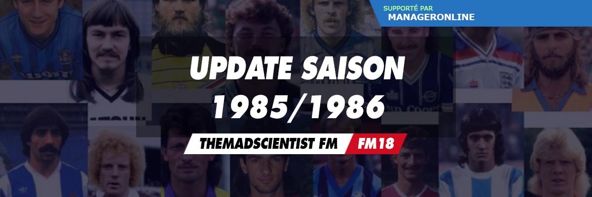 Saison 1985-1986