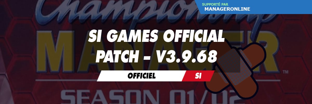 SI Games Official Patch – v3.9.68