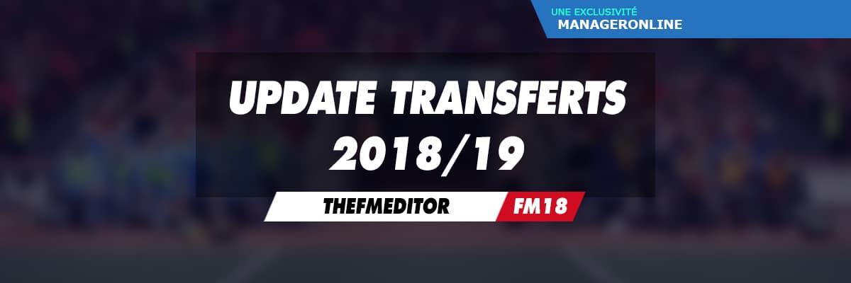 Update Transferts 2018/19 (par TheFMEditor)