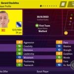 Profil joueur