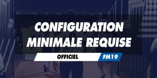 Configuration minimale requise
