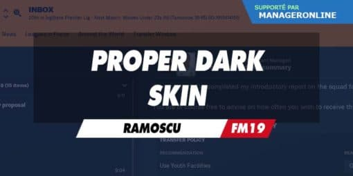 Proper Dark Skin