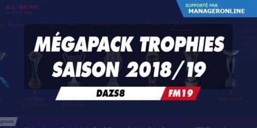 Mégapack Trophies par DazS8