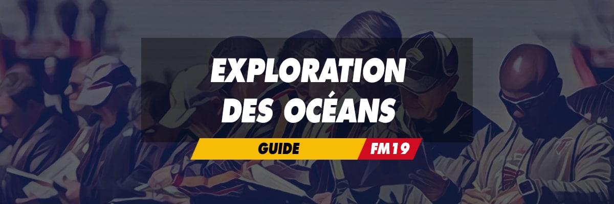 Exploration des océans
