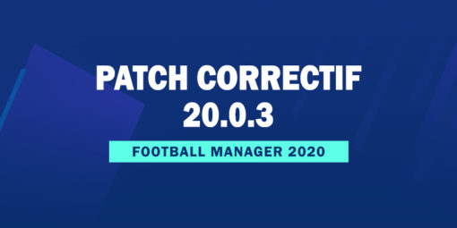 Patch Correctif Officiel 20.0.3