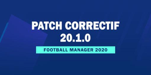 Patch Correctif Officiel 20.1.0