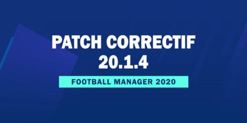 Patch Correctif Officiel 20.1.4