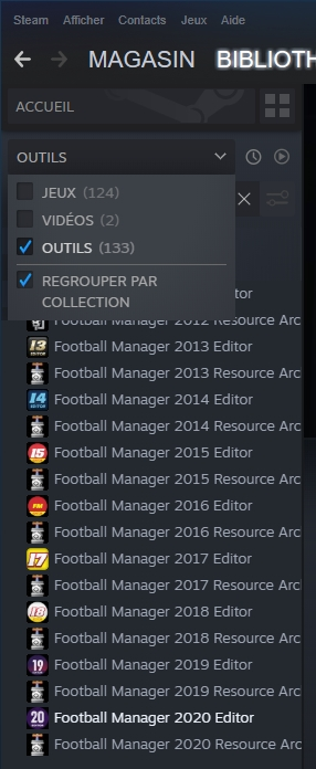Football Manager Editor et Resource Archiver