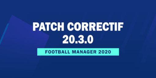 Patch correctif officiel 20.3.0
