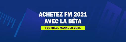 Achetez Football Manager 2021