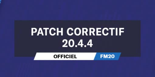 Patch Correctif Officiel 20.4.4
