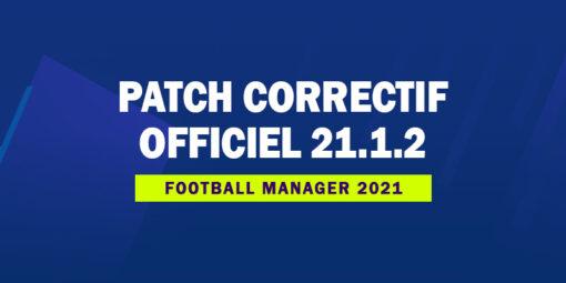 Patch correctif officiel 21.1.2
