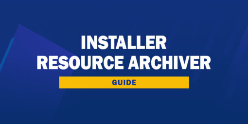 Trouver le Resource Archiver