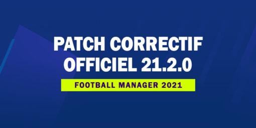 Patch Correctif Officiel 21.2.0