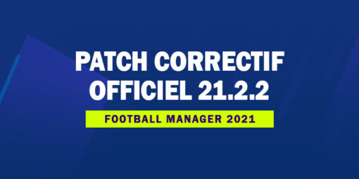 Patch Correctif Officiel 21.2.2