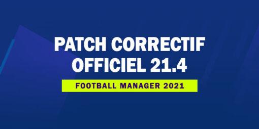 Patch Correctif Officiel 2140