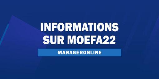 Informations sur MOEFA22