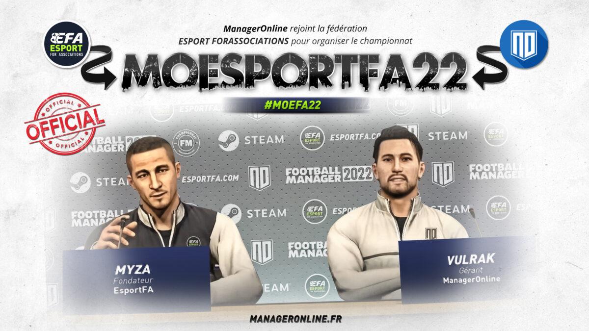 MOEFA22 ManagerOnline x Esport For Associations