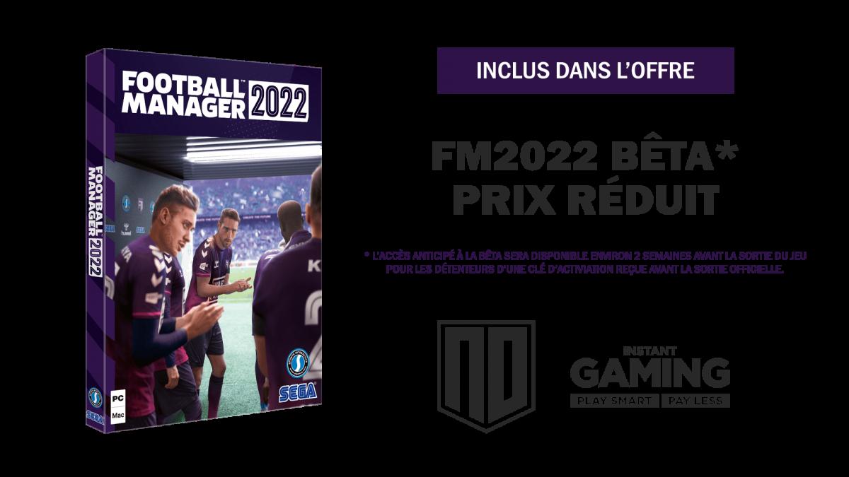 Acheter FM22 - Football Manager 2022