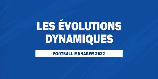 Les évolutions dynamiques